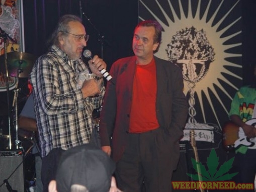 Jack Herer presented with a cannabis cup