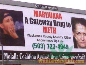 Billboard paid for by US tax payers in Portland