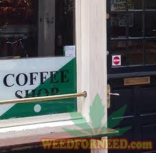 coffeeshop sticker